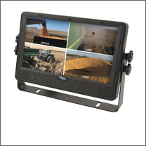 Wired Quad LCD Monitor