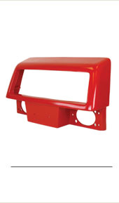 T101570 Upper Grille Housing. Fits Case-IH Tractors.