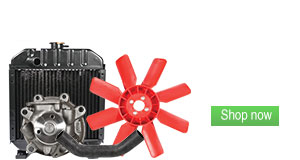 Shop Cooling System Parts for Tractors, Combines and Industrial Equipment