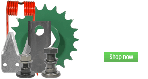Shop Hay Tool Parts. Disc mower Blades, Rock Guards, Sickles, and more