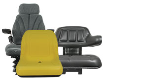 Shop Seats, Cushions, Seat Suspensions and Parts